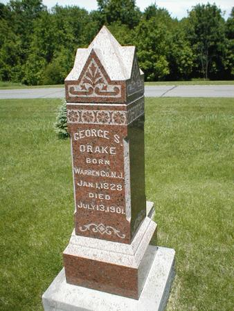 DRAKE, GEORGE S. - Boone County, Iowa | GEORGE S. DRAKE