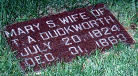 DUCKWORTH, MARY (SINCLAIR/ST. CLAIR) - Boone County, Iowa | MARY (SINCLAIR/ST. CLAIR) DUCKWORTH