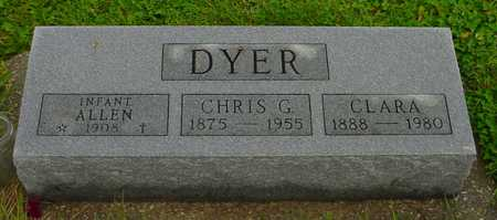 DYER, CHRIS G. - Boone County, Iowa | CHRIS G. DYER