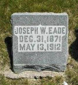 EADE, JOSEPH W. - Boone County, Iowa | JOSEPH W. EADE