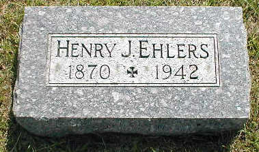 EHLERS, HENRY J. - Boone County, Iowa | HENRY J. EHLERS