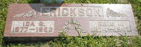 ERICKSON, IDA G. - Boone County, Iowa | IDA G. ERICKSON