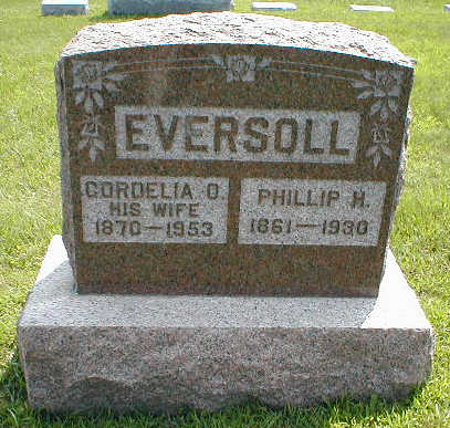 EVERSOLL, PHILLIP H. - Boone County, Iowa | PHILLIP H. EVERSOLL