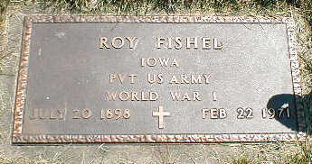 FISHEL, ROY - Boone County, Iowa | ROY FISHEL