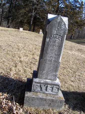FYFE, JANE - Boone County, Iowa | JANE FYFE
