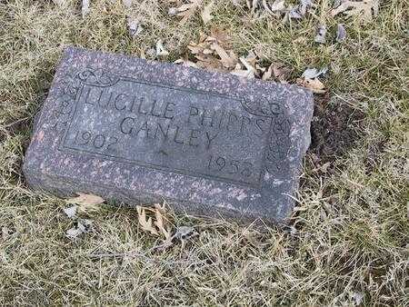 PHIPPS GANLEY, LUCILLE - Boone County, Iowa | LUCILLE PHIPPS GANLEY