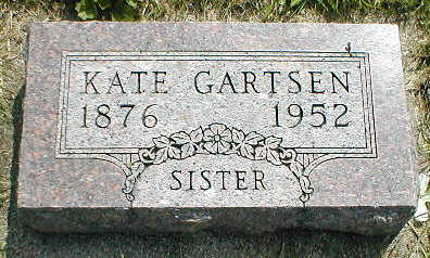 GARTSEN, KATE - Boone County, Iowa | KATE GARTSEN