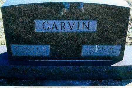 GARVIN, JOHN W. - Boone County, Iowa | JOHN W. GARVIN