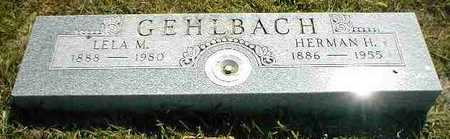 GEHLBACH, LELA M. - Boone County, Iowa | LELA M. GEHLBACH