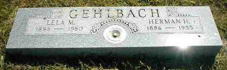 GEHLBACH, HERMAN H. - Boone County, Iowa | HERMAN H. GEHLBACH