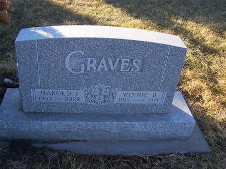 GRAVES, WINNIE B. - Boone County, Iowa | WINNIE B. GRAVES