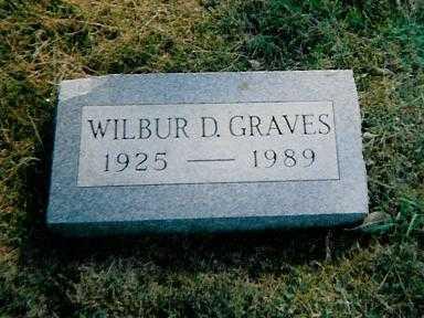 GRAVES, WILBUR D. - Boone County, Iowa   WILBUR D. GRAVES