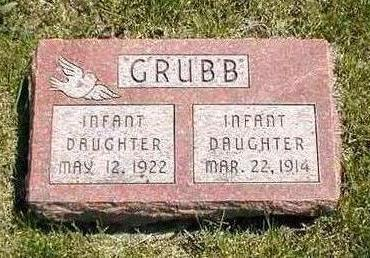 GRUBB, INFANT - Boone County, Iowa | INFANT GRUBB