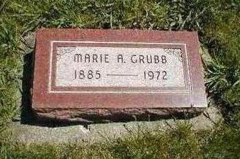 GRUBB, MARIE A. - Boone County, Iowa | MARIE A. GRUBB