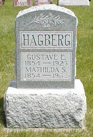 HAGBERG, GUSTAVE E. - Boone County, Iowa | GUSTAVE E. HAGBERG