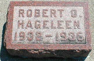 HAGELEEN, ROBERT O. - Boone County, Iowa | ROBERT O. HAGELEEN