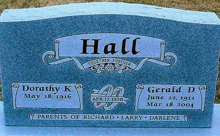 HALL, GERALD D. - Boone County, Iowa   GERALD D. HALL