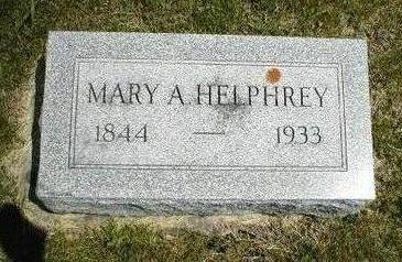 HELPHREY, MARY A. - Boone County, Iowa | MARY A. HELPHREY