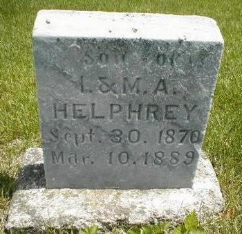 HELPHREY, SON - Boone County, Iowa | SON HELPHREY