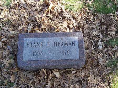 HERMAN, FRANK T. - Boone County, Iowa | FRANK T. HERMAN