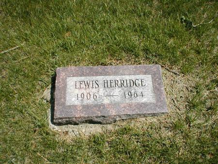 HERRIDGE, LEWIS - Boone County, Iowa | LEWIS HERRIDGE