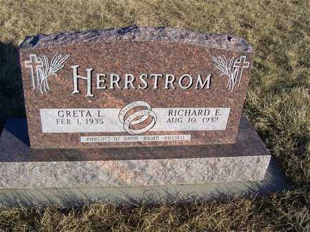 HERRSTROM, RICHARD E. - Boone County, Iowa | RICHARD E. HERRSTROM