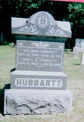 HUBBARTT, MARY E. - Boone County, Iowa | MARY E. HUBBARTT