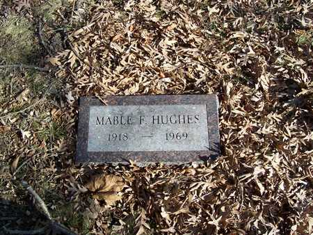 HUGHES, MABLE F. - Boone County, Iowa | MABLE F. HUGHES