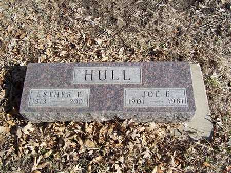 HULL, JOE E. - Boone County, Iowa | JOE E. HULL