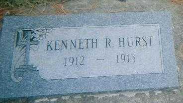 HURST, KENNETH R. - Boone County, Iowa   KENNETH R. HURST