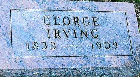 IRVING, GEORGE - Boone County, Iowa | GEORGE IRVING