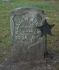 IRWIN, WILLIAM H. - Boone County, Iowa   WILLIAM H. IRWIN