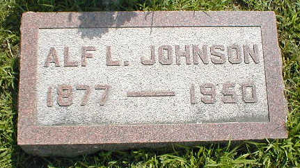 JOHNSON, ALF L. - Boone County, Iowa | ALF L. JOHNSON
