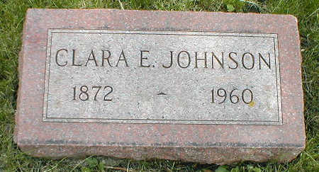 JOHNSON, CLARA E. - Boone County, Iowa | CLARA E. JOHNSON