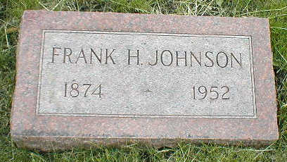 JOHNSON, FRANK H. - Boone County, Iowa | FRANK H. JOHNSON