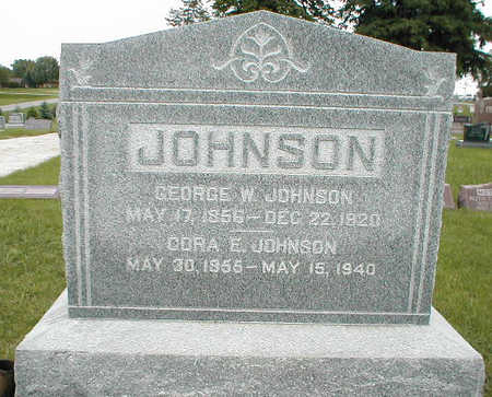 JOHNSON, CORA E. - Boone County, Iowa | CORA E. JOHNSON