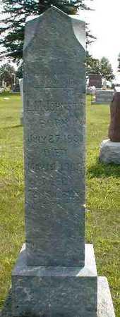 JOHNSON, L.M. - Boone County, Iowa   L.M. JOHNSON