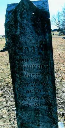 JOHNSON, MARY - Boone County, Iowa | MARY JOHNSON