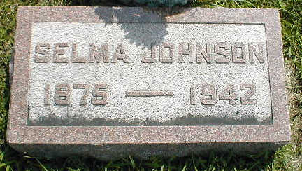 JOHNSON, SELMA - Boone County, Iowa | SELMA JOHNSON