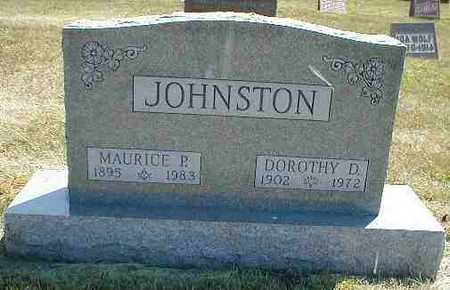 JOHNSTON, MAURICE P. - Boone County, Iowa | MAURICE P. JOHNSTON