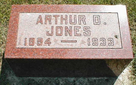 JONES, ARTHUR D. - Boone County, Iowa | ARTHUR D. JONES