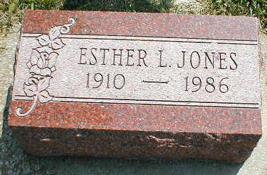 JONES, ESTHER L. - Boone County, Iowa | ESTHER L. JONES
