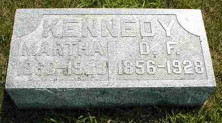 KENNEDY, D.F. - Boone County, Iowa | D.F. KENNEDY