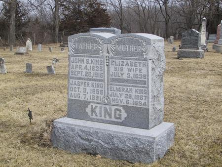 KING, ELMIRAH - Boone County, Iowa | ELMIRAH KING