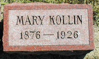 KOLLIN, MARY - Boone County, Iowa | MARY KOLLIN