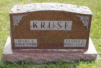KRUSE, GEORGE H. - Boone County, Iowa | GEORGE H. KRUSE