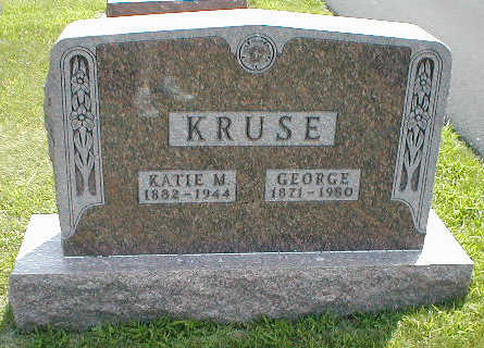 KRUSE, GEORGE - Boone County, Iowa | GEORGE KRUSE