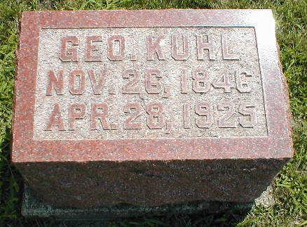 KUHL, GEO. - Boone County, Iowa | GEO. KUHL