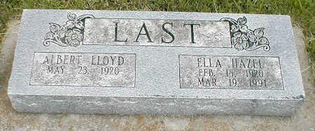 LAST, ELLA HAZEL - Boone County, Iowa | ELLA HAZEL LAST
