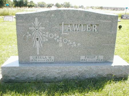 LAWLER, PHILIP E. - Boone County, Iowa | PHILIP E. LAWLER